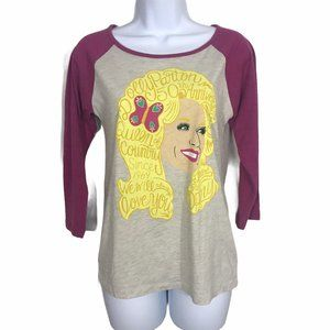 Dolly Parton Grand Ole Opry Raglan Graphic Shirt